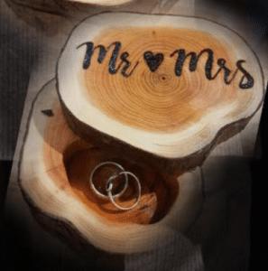 ringendoosjes laten maken voor mijn eerste ervaring als weddingplanner