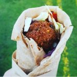 falafel voor een veganistische bruiloft