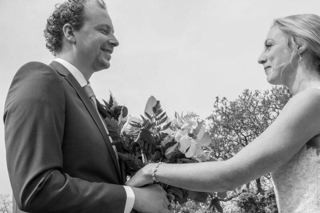 Mooie impressie in portfolio van perfecte bruiloften