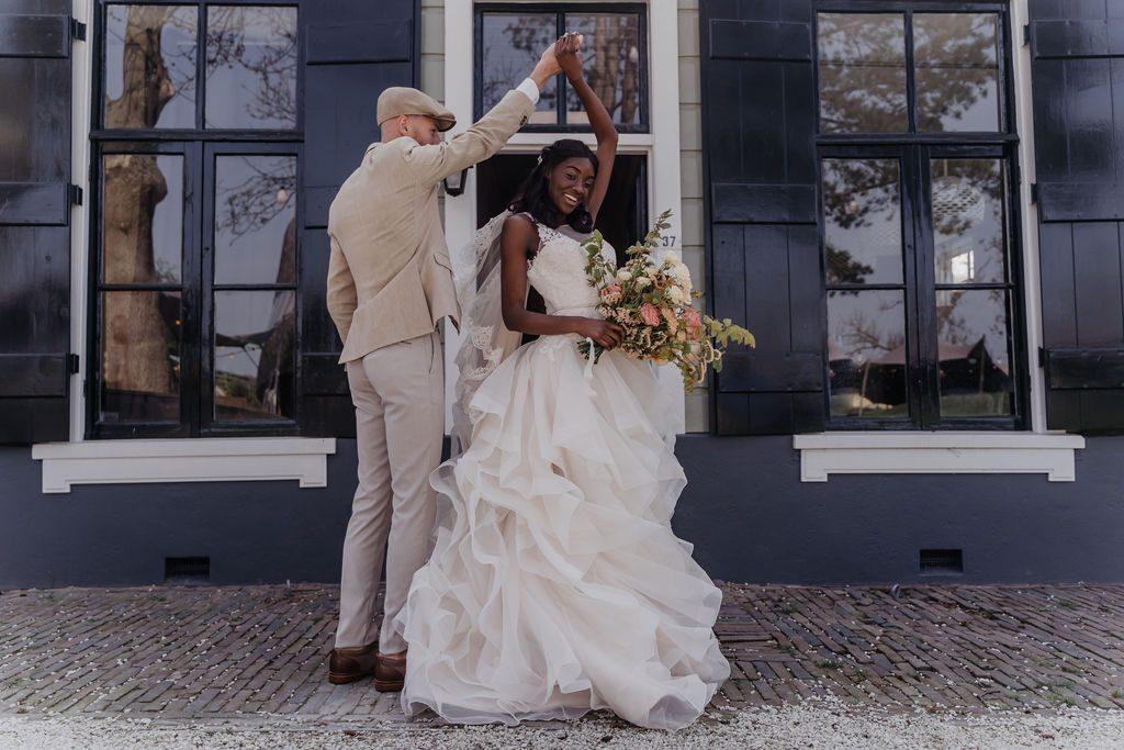 Mooie foto's van de styled wedding shoot in Diemen