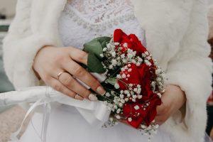 Bruidsboeket winter
