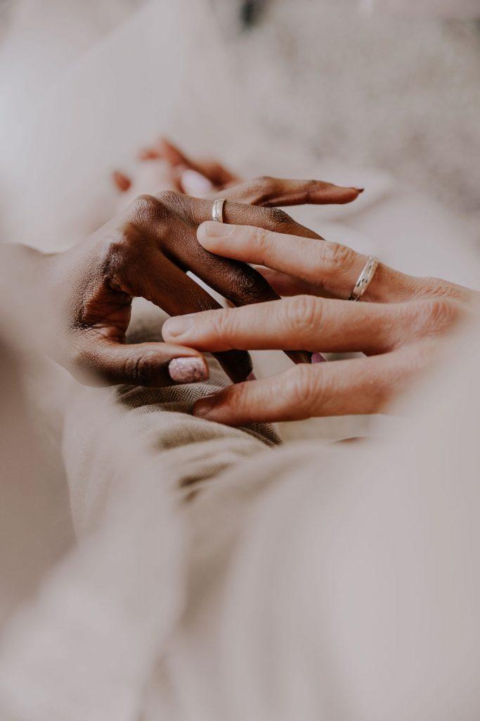 styled wedding shoot