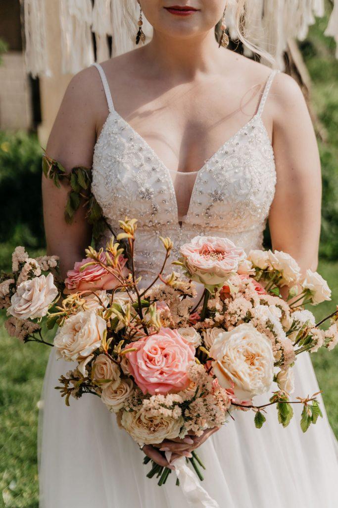 bruidsboeket per seizoen