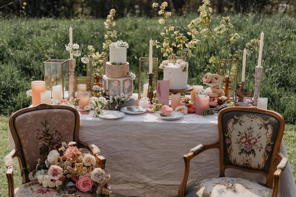 gestylde tafel