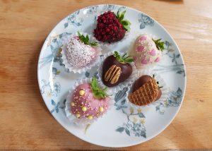 aardbeien voor een sweet table