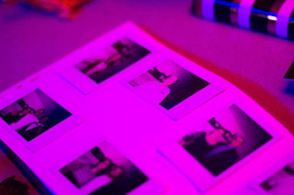 Polaroids als origineel gastenboek