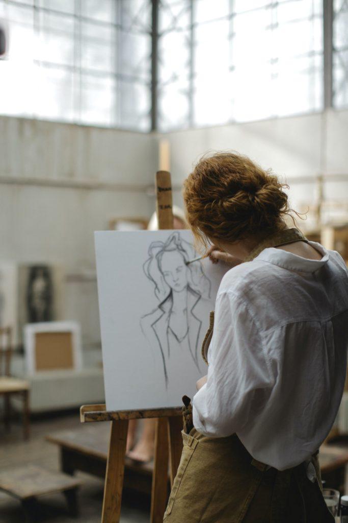 live painter als origineel entertainment op je bruiloft